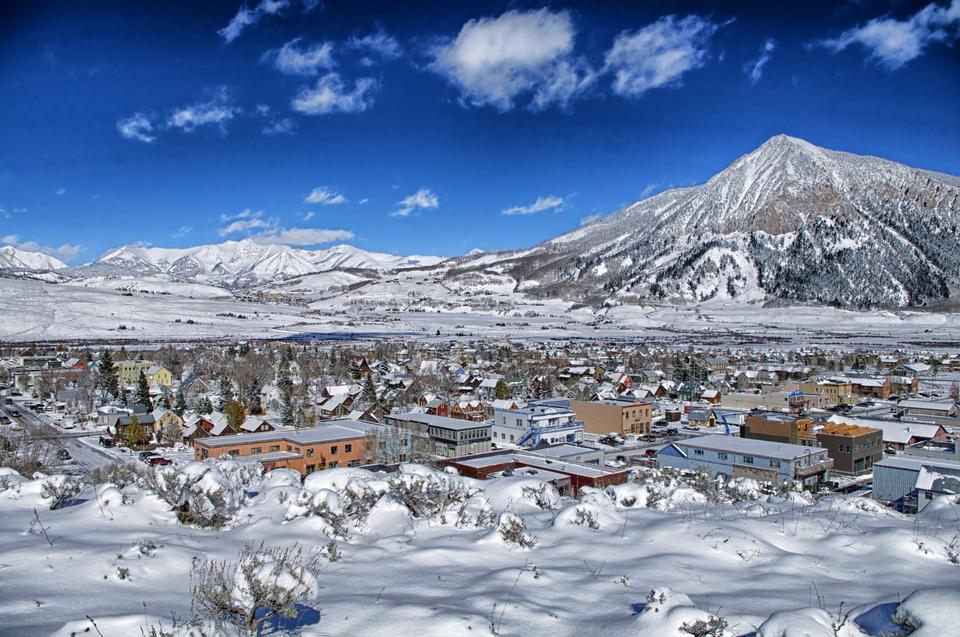 Crested Butte Ville Colorado