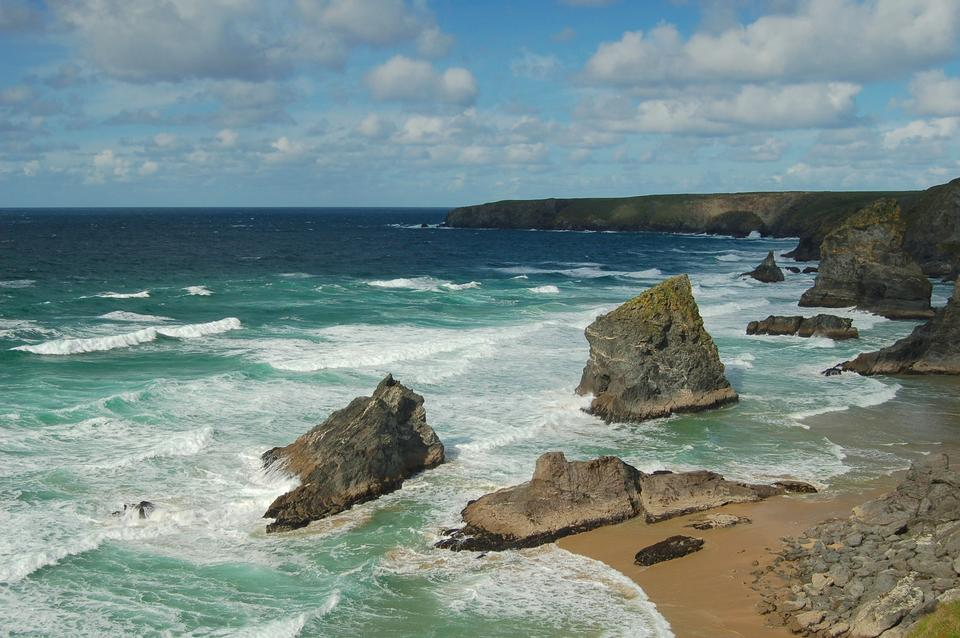 Porthcurno beach, Penwith, Cornwall