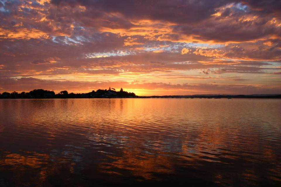 Free download high resolution image - free image free photo free stock image public domain picture  Beautiful Sunset  Lake Macquarie