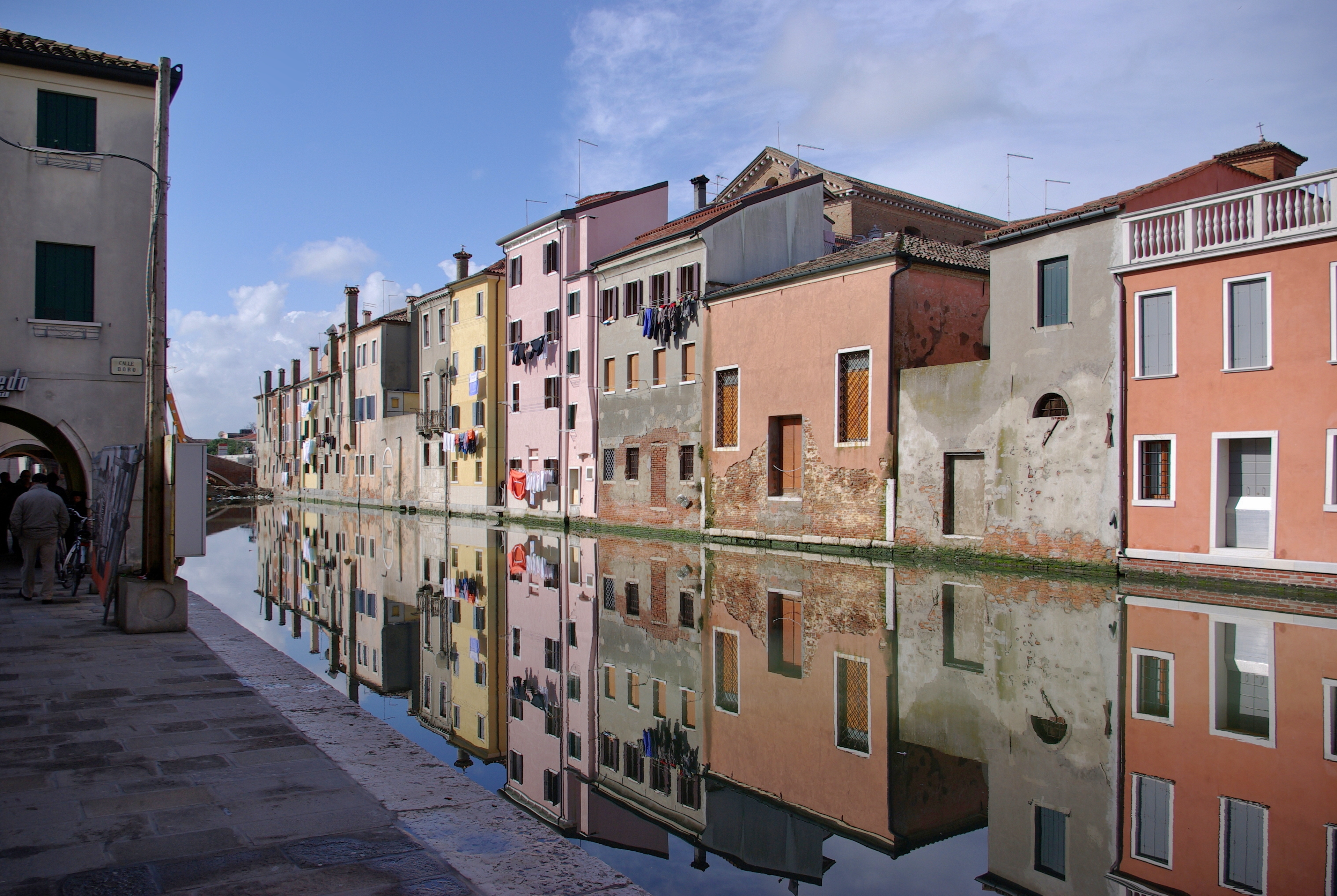 Free download high resolution image - free image free photo free stock image public domain picture -Chioggia Venice, typical houses along the canal with reflections