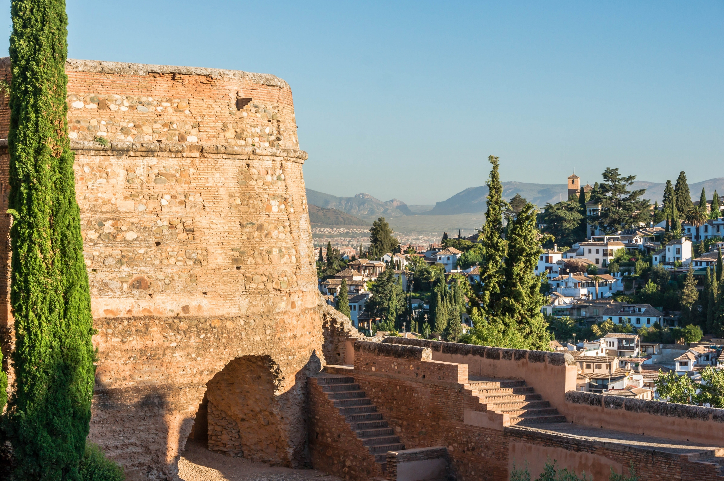 Free download high resolution image - free image free photo free stock image public domain picture -Alhambra at sunset, Granada, Spain