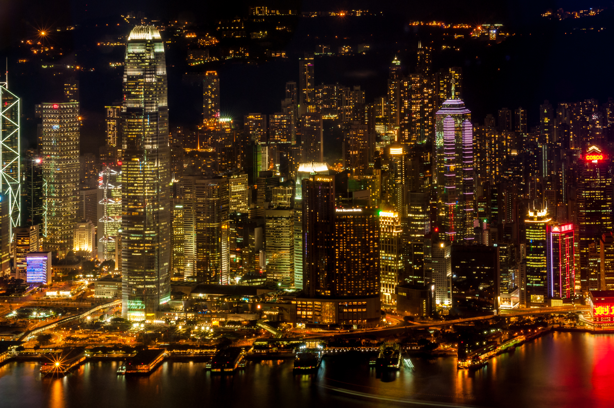 Free download high resolution image - free image free photo free stock image public domain picture -Hong Kong skyline at night