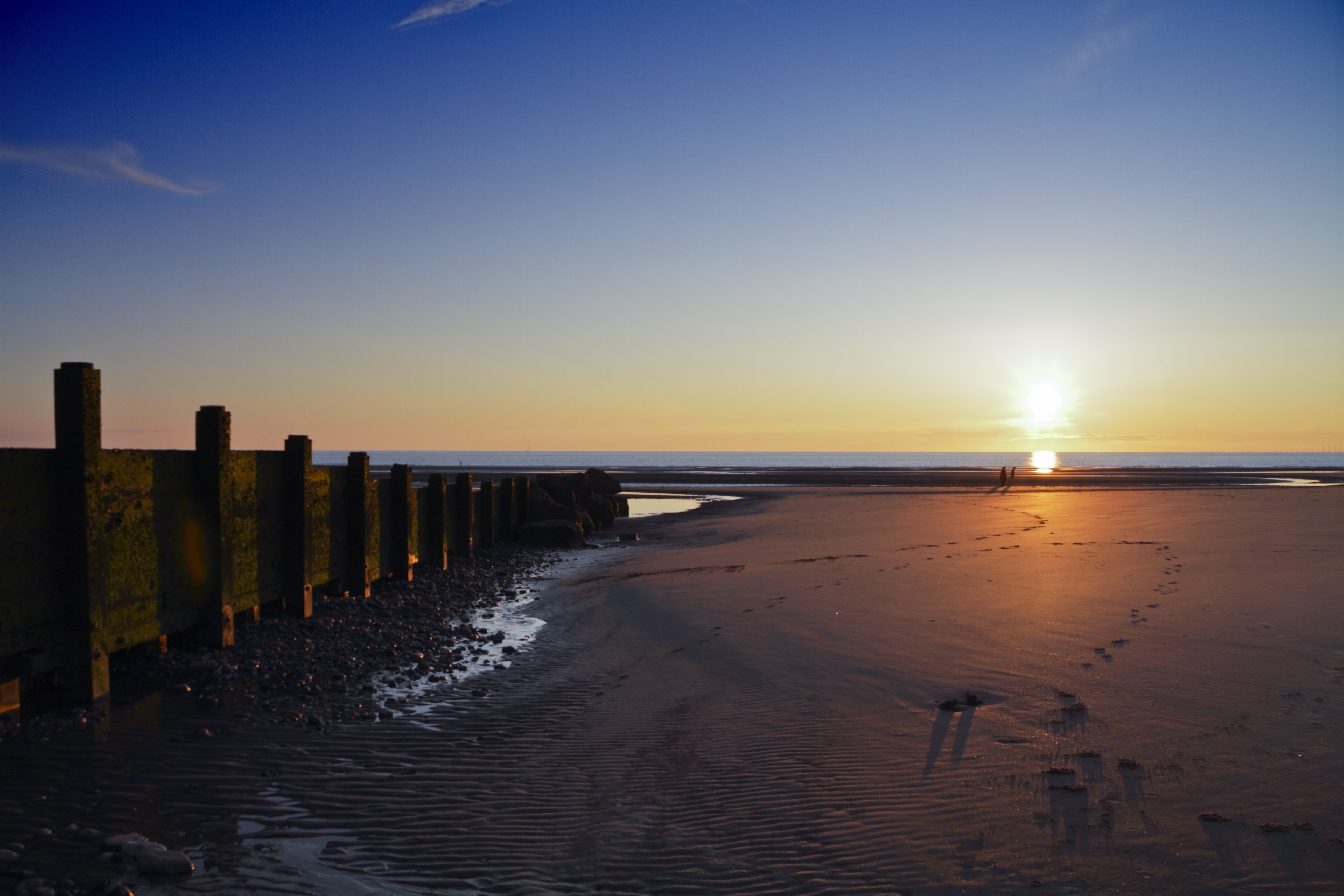 Free download high resolution image - free image free photo free stock image public domain picture -Cleveleys Beach Sunset