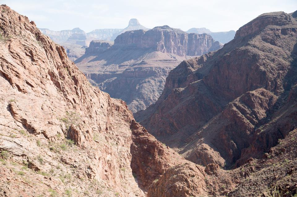 South Kaibab Trail in Grand Canyon