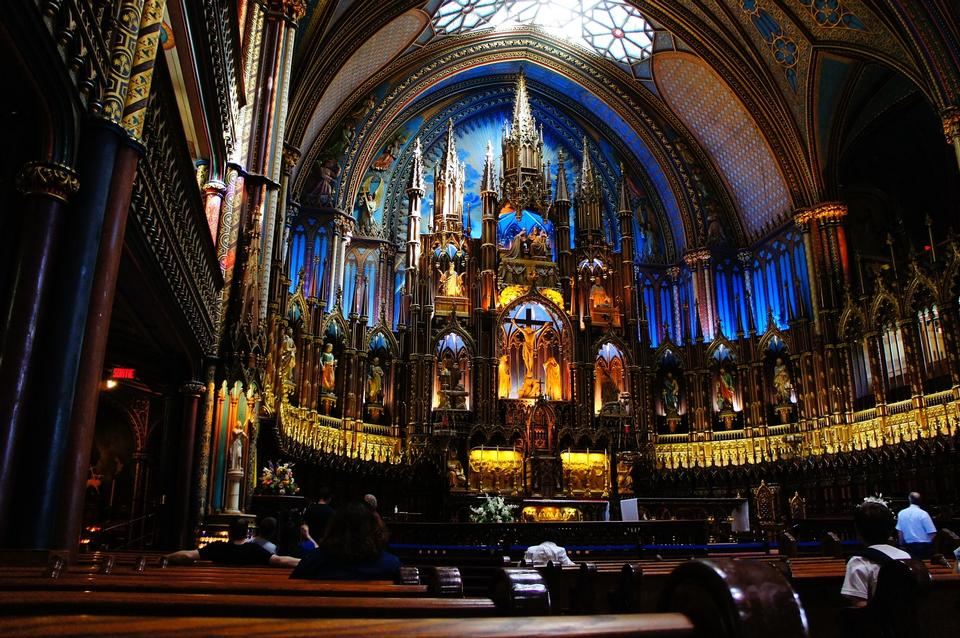Church Notre-Dame Montreal