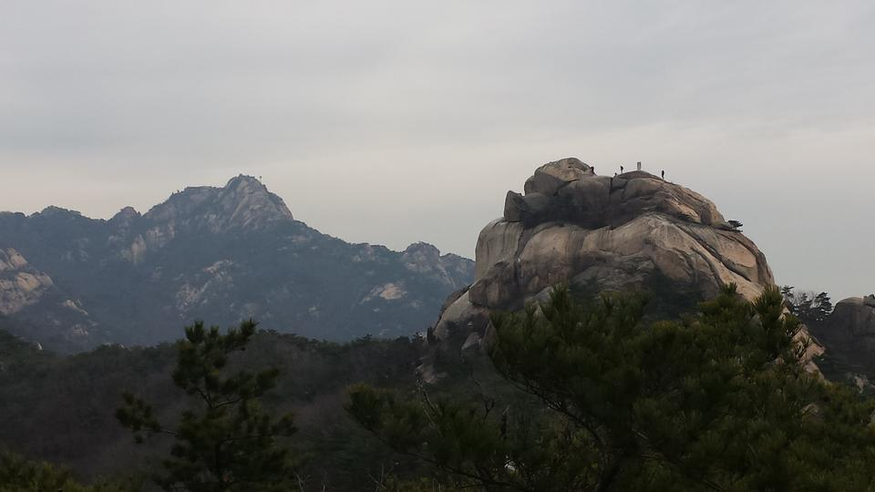 Free download high resolution image - free image free photo free stock image public domain picture  Bukhansan mountains in Seoul, South Korea