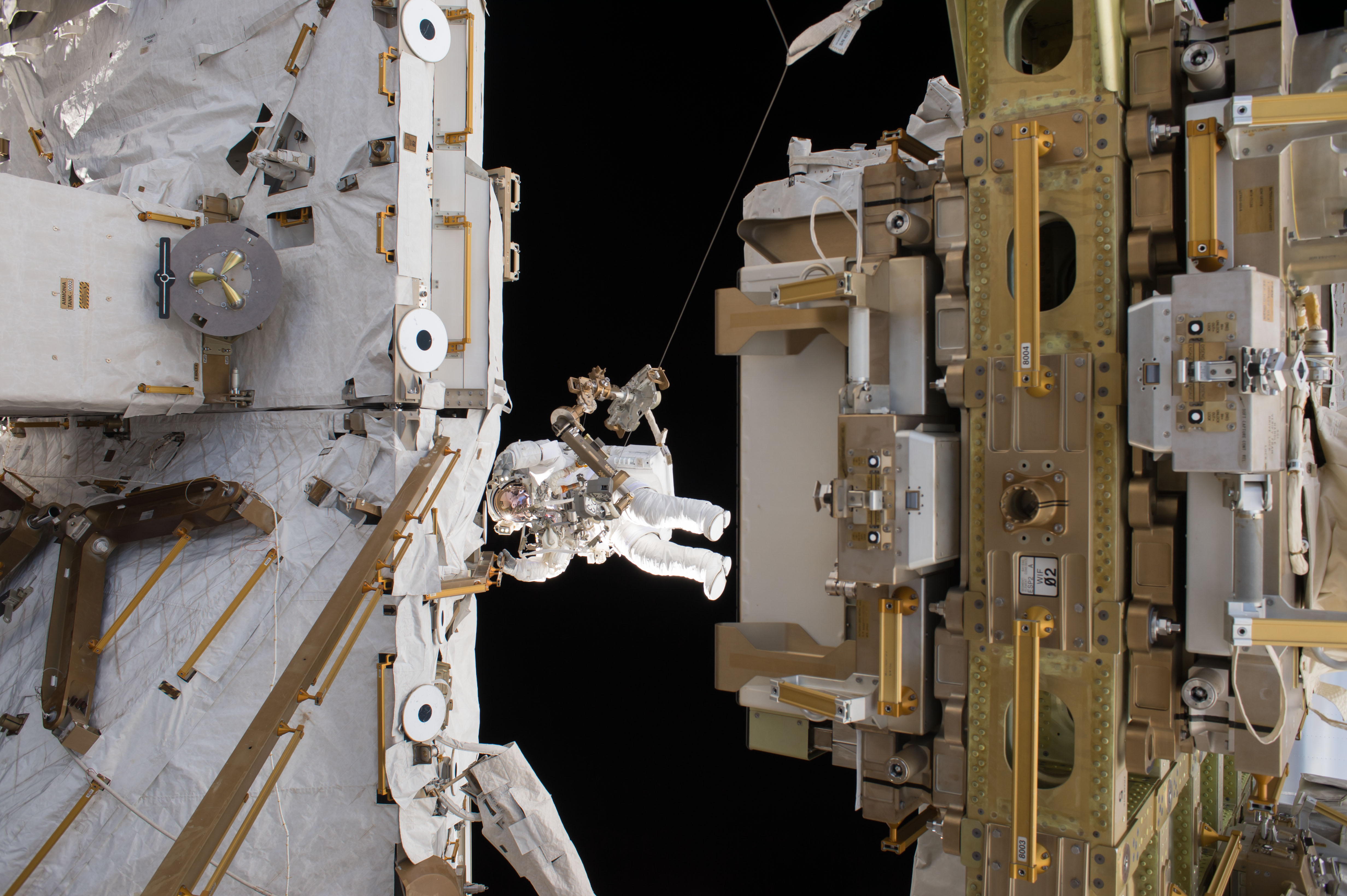 Free download high resolution image - free image free photo free stock image public domain picture -Spacewalks Prepare Station for Arrival
