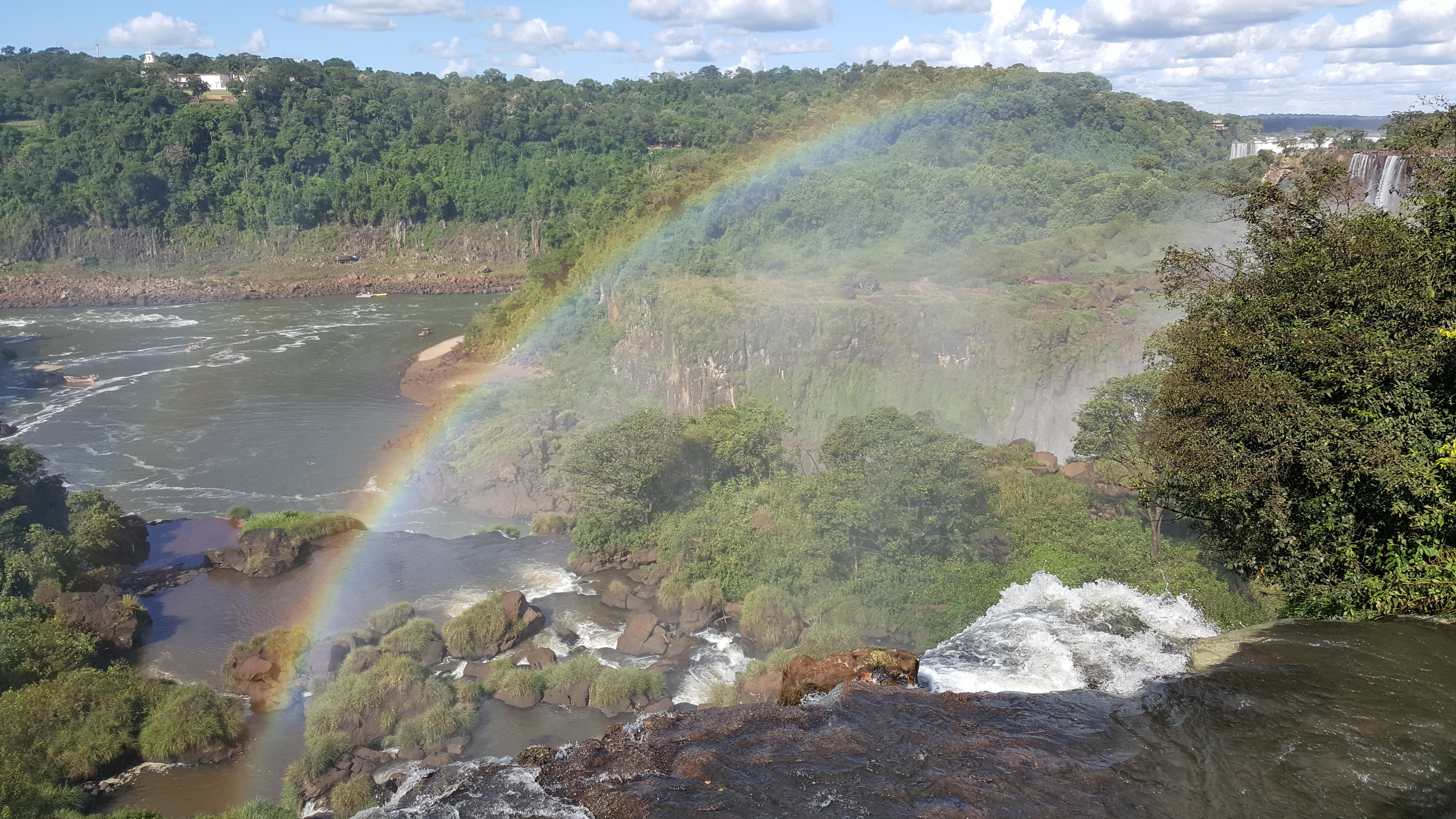 Free download high resolution image - free image free photo free stock image public domain picture -Iguassu waterfalls with rainbow on a sunny day