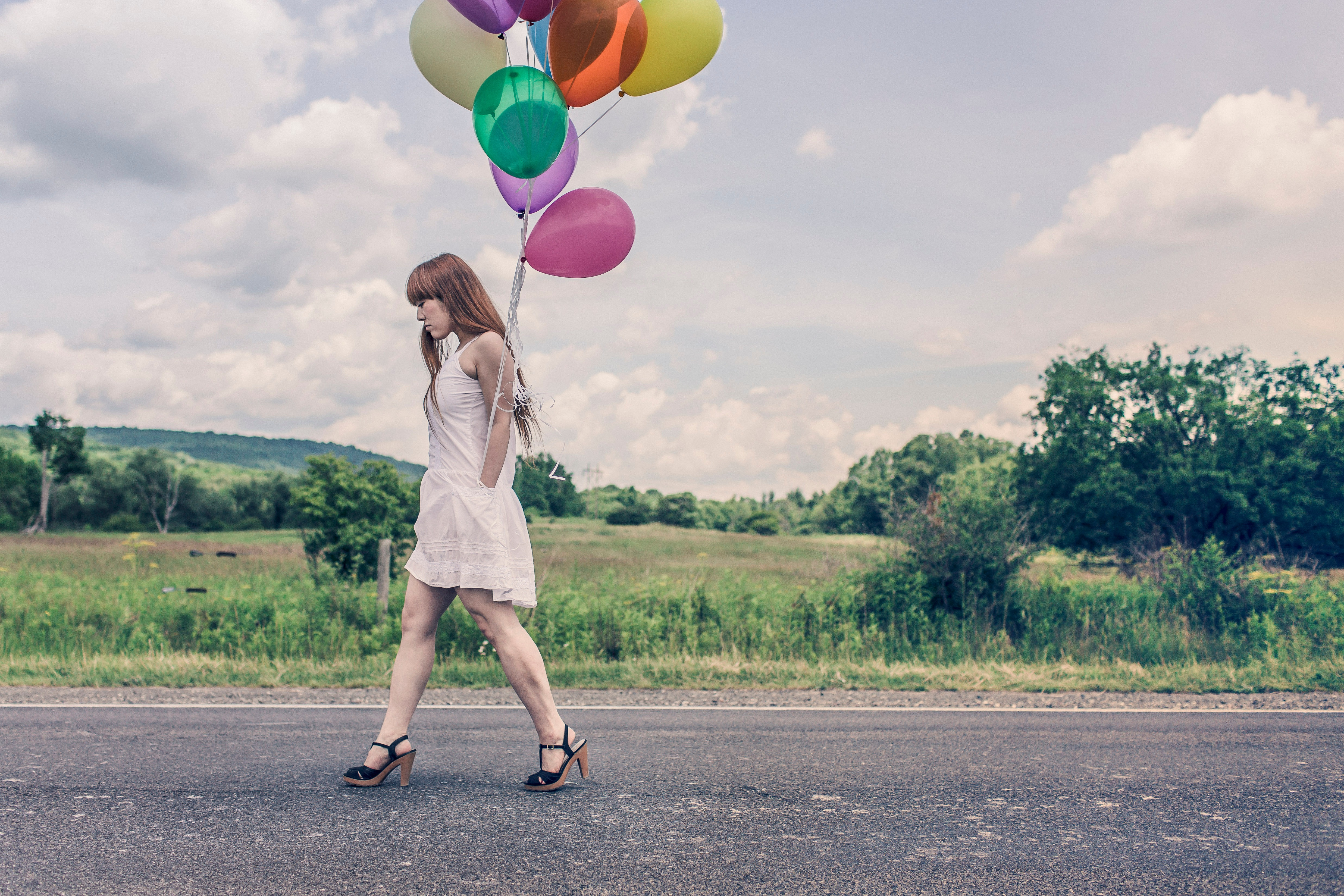 Free download high resolution image - free image free photo free stock image public domain picture -Fille adolescente tenant des ballons