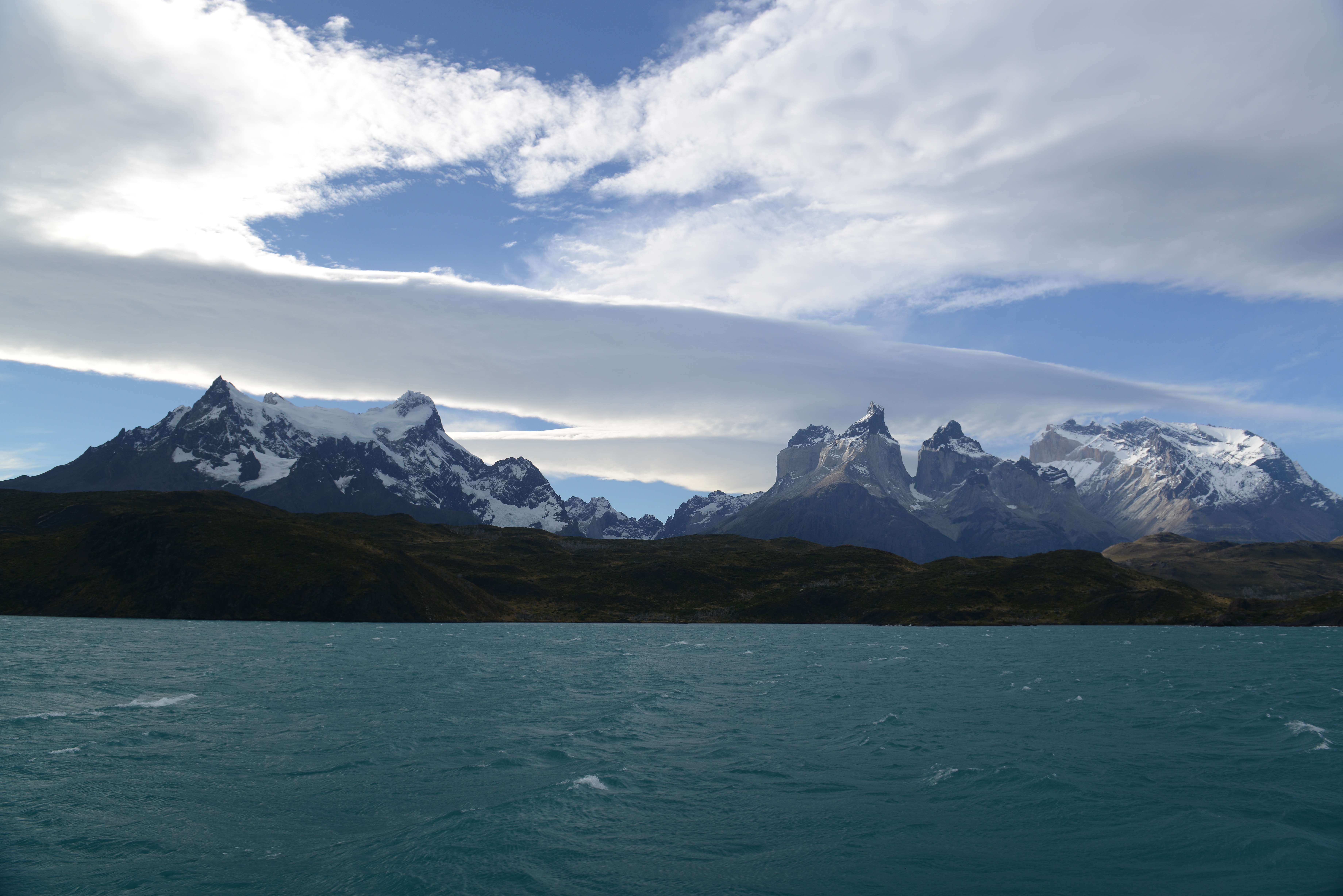 Free download high resolution image - free image free photo free stock image public domain picture -Pehoe Lake and Los Cuernos in the Torres del Paine National Park