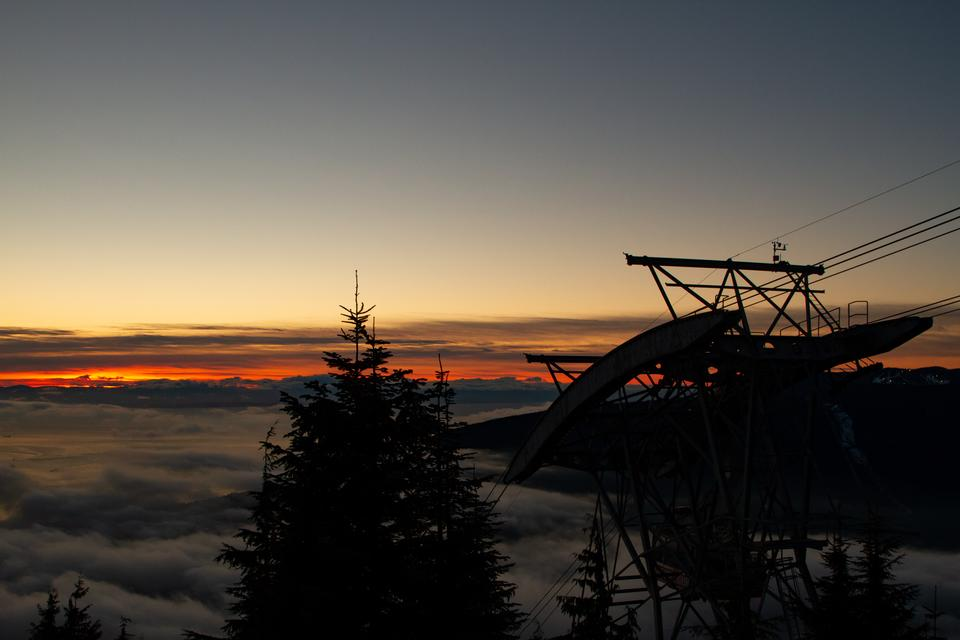 Free download high resolution image - free image free photo free stock image public domain picture  Sunset at Grouse Mountain, Vancouver, BC