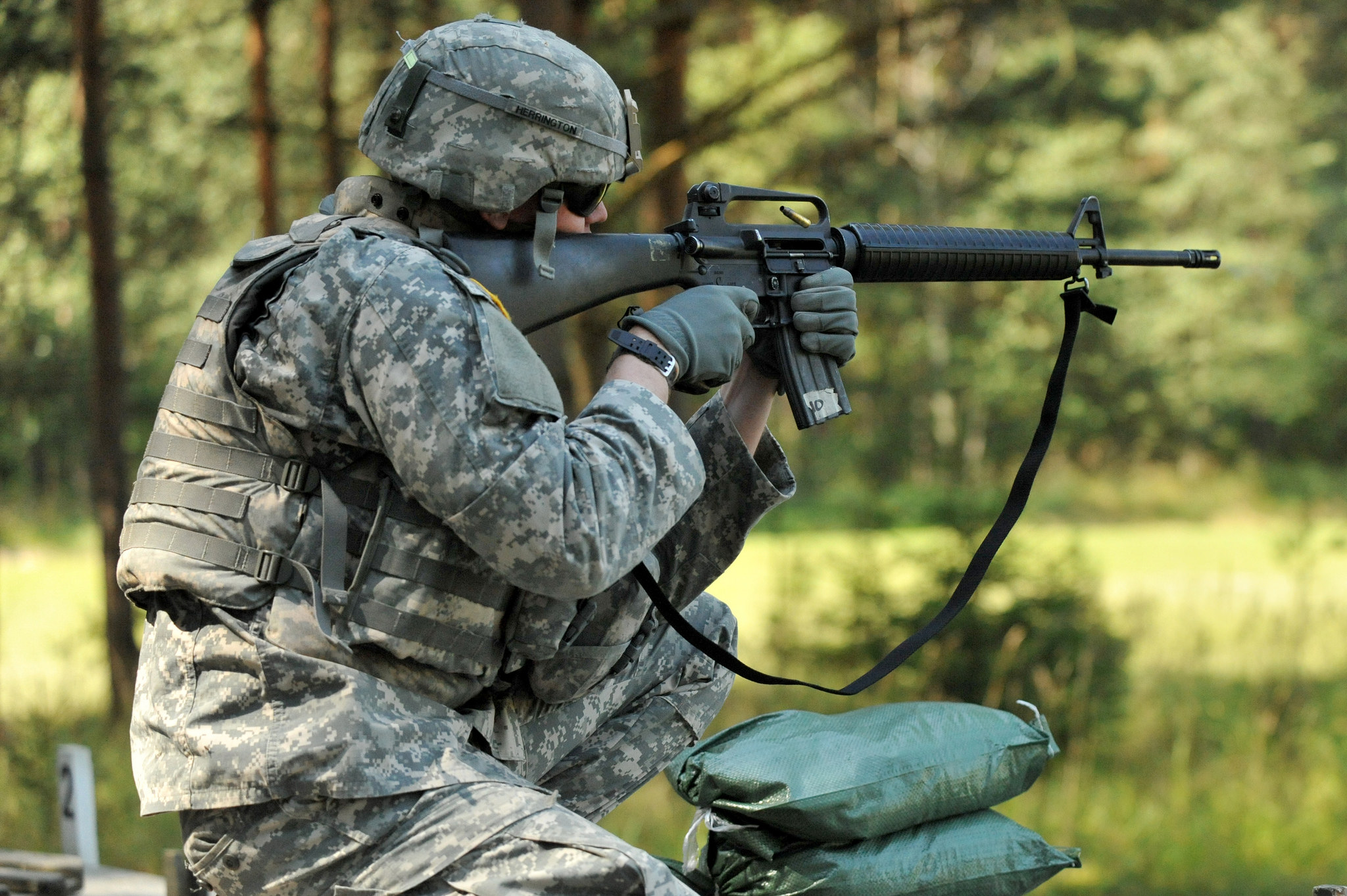 Free download high resolution image - free image free photo free stock image public domain picture -U.S. Army soldier fires his weapon
