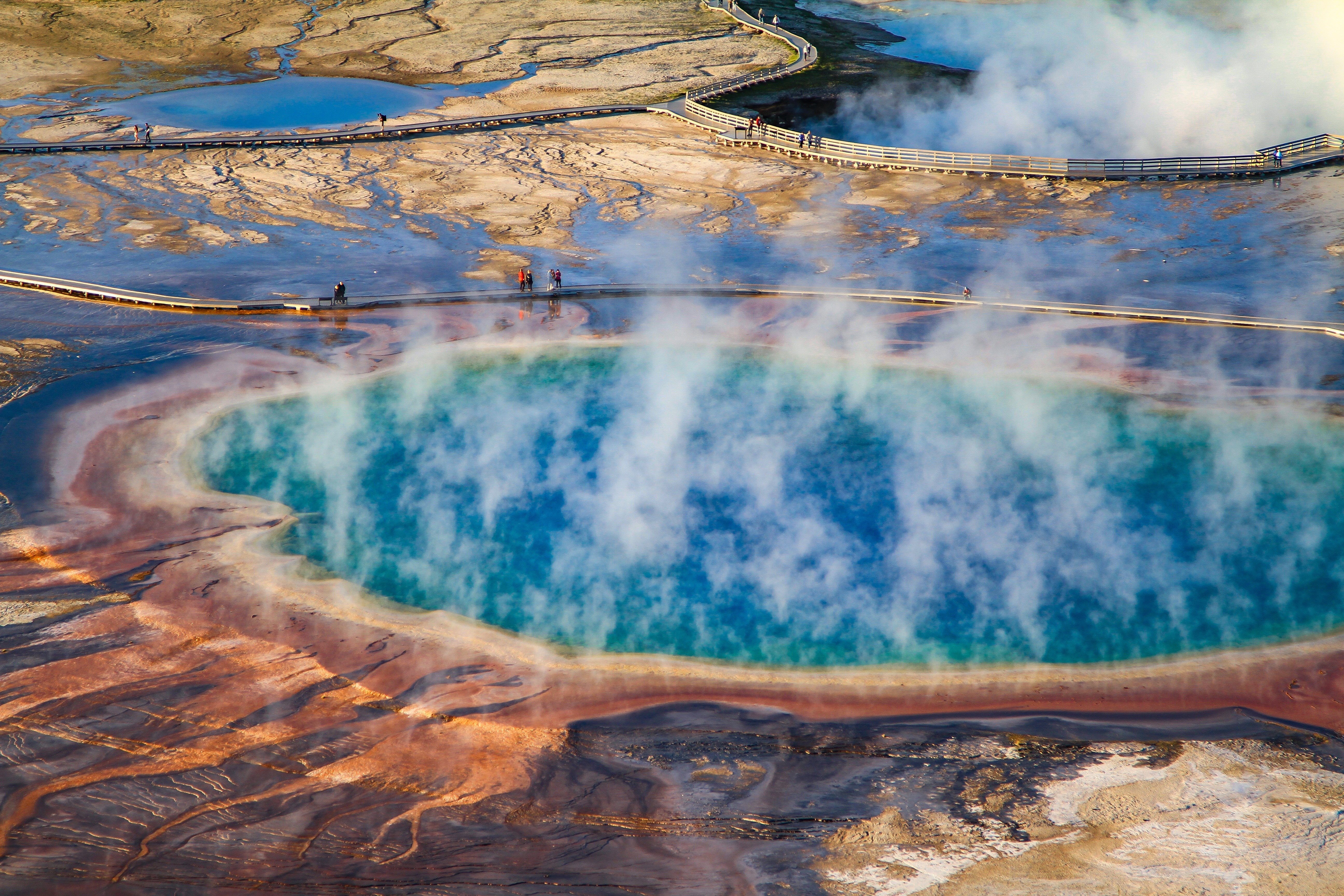 Free download high resolution image - free image free photo free stock image public domain picture -Großartiger prismatischer Frühling, Yellowstone Nationalpark