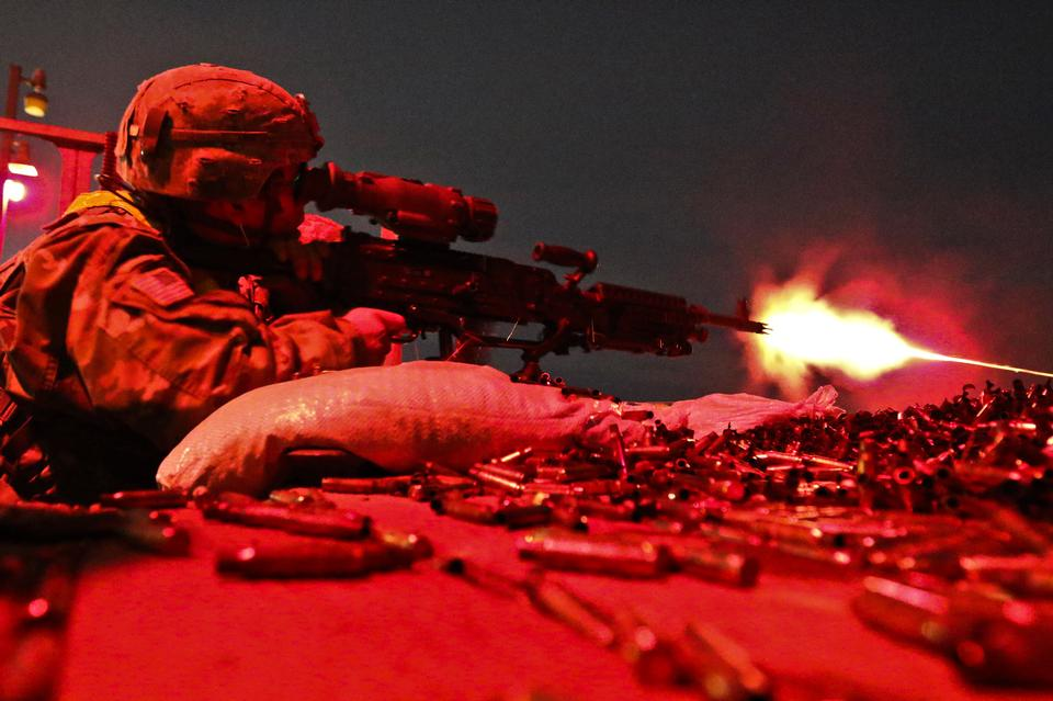Free download high resolution image - free image free photo free stock image public domain picture  U.S soldier fires an M240B machine gun