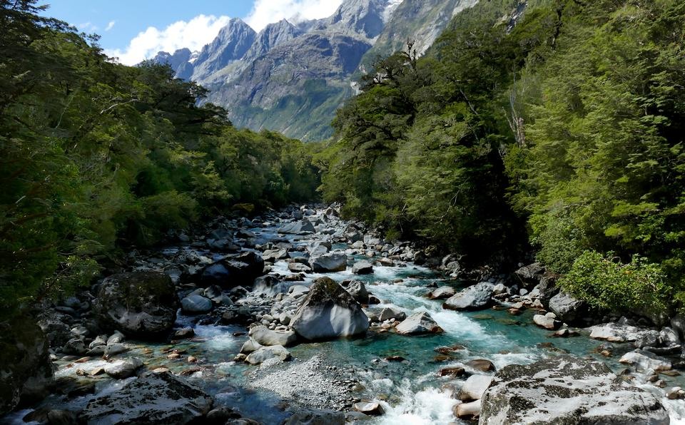 Free download high resolution image - free image free photo free stock image public domain picture  Tutuko River Fiordland National Park