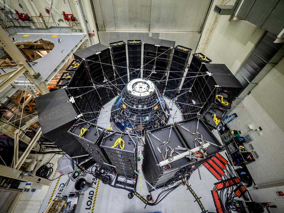 Free download high resolution image - free image free photo free stock image public domain picture  Orion Crew Module Undergoes Testing
