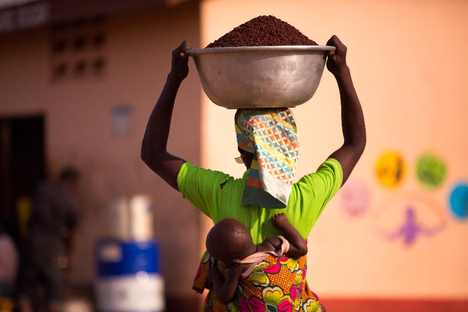 Free download high resolution image - free image free photo free stock image public domain picture  Unidentified African woman carrying her son on back
