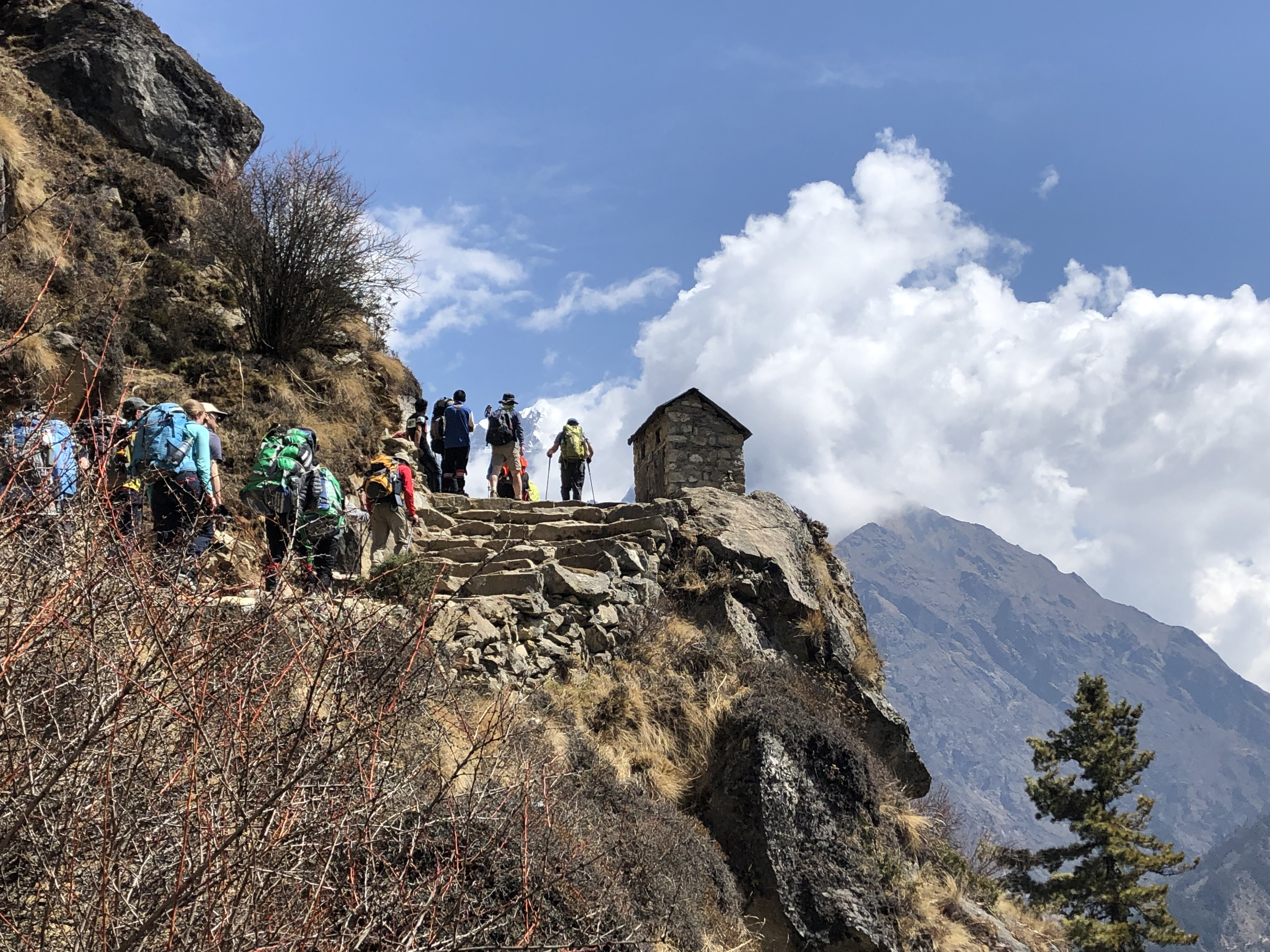 Free download high resolution image - free image free photo free stock image public domain picture -Trekking group on the way to the Everest Base Camp